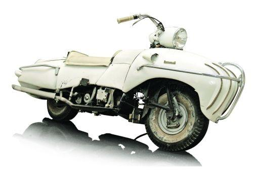 Orley Ray Courtney Enterprise motorcycle