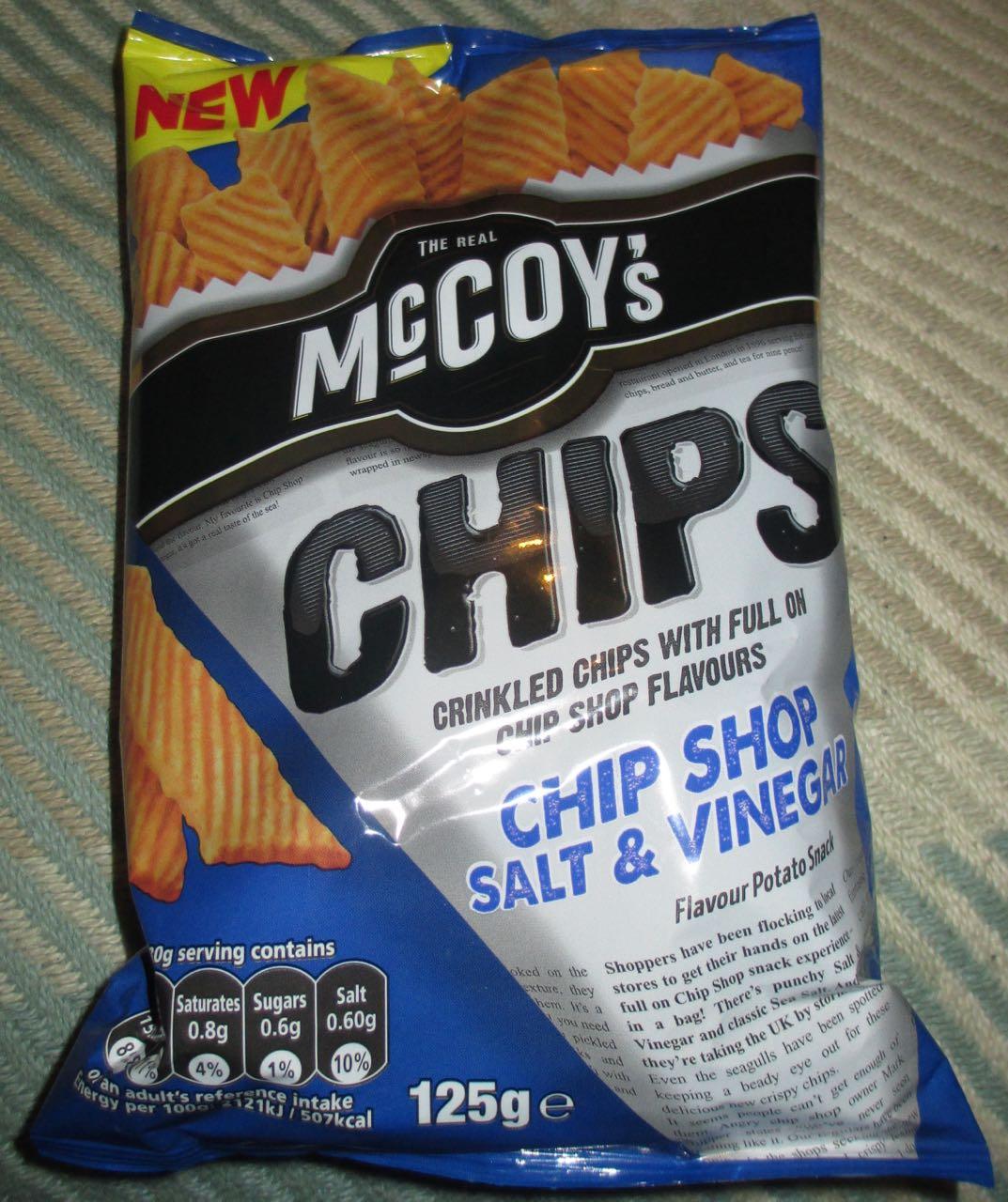 how to make salt and vinegar chips