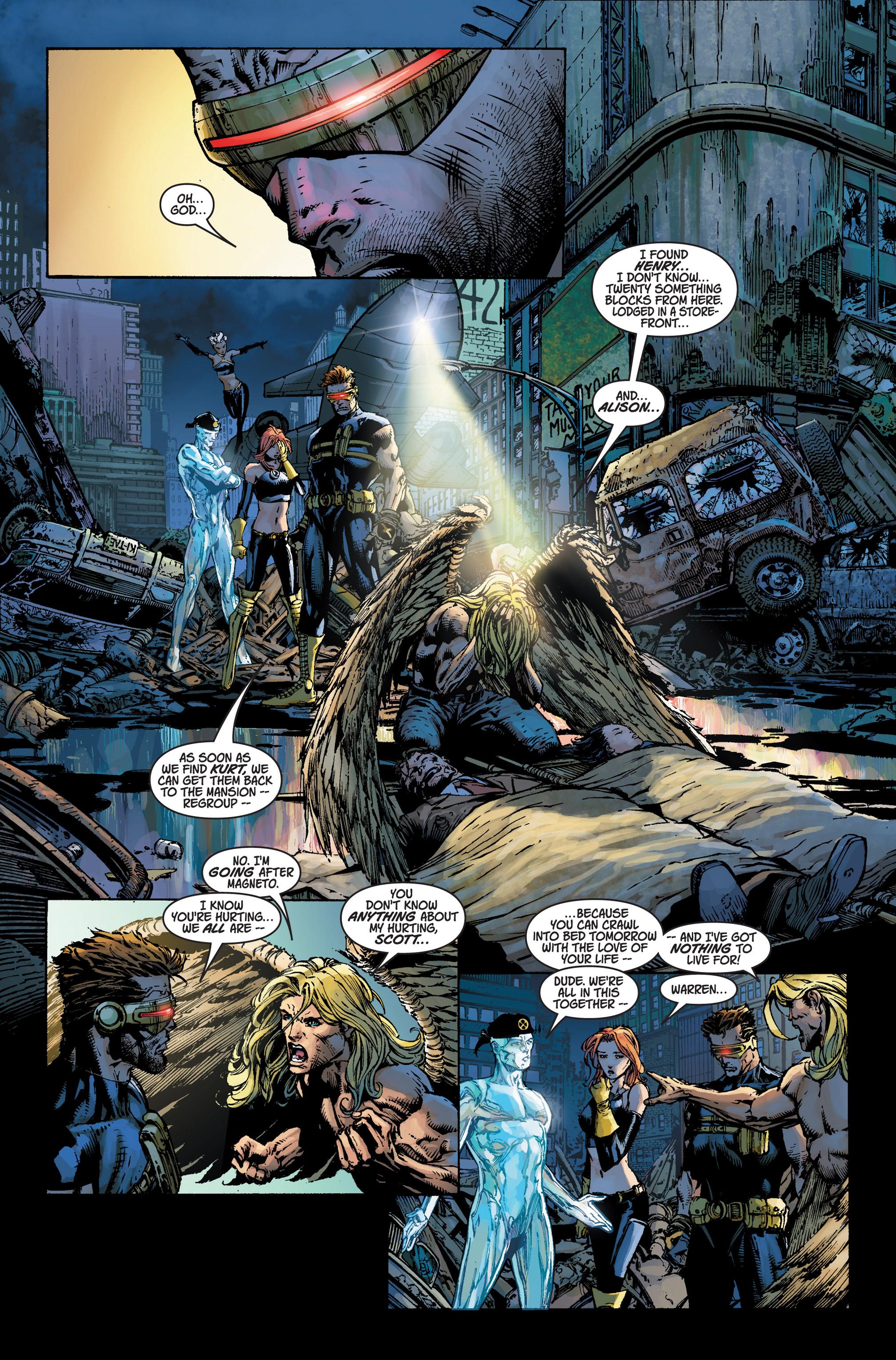 Read online Ultimatum comic -  Issue #3 - 10