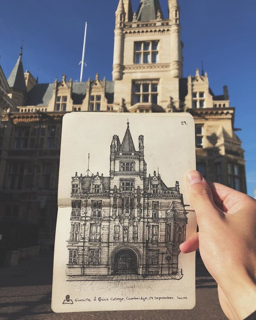 02-College-in-Cambridge-Alex-Pantela-Ink-Urban-Architectural-Drawings-www-designstack-co