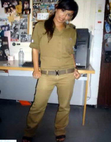 hot israeli soldier girls