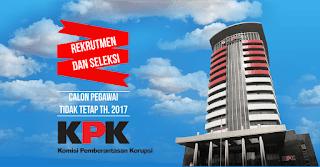 Lowongan Kerja PTT Komisi Pemberantasan Korupsi (KPK)