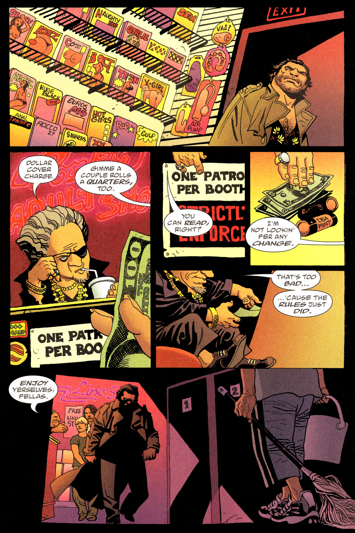 Read online 100 Bullets comic -  Issue #80 - 9