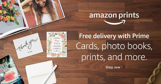 Photo Printing Finally Made as Easy as Using Amazon + $500 Amazon Gift Card #Giveaway #AmazonPrints @ad