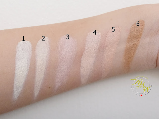 a swatch photo of IMAGIC PROfessional Contour Cream KIT
