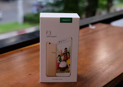Trên tay điện thoại Oppo F3 sắp sửa lên kệ