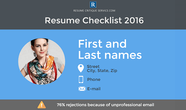 The Best Pointers for Resume Checklist 2016