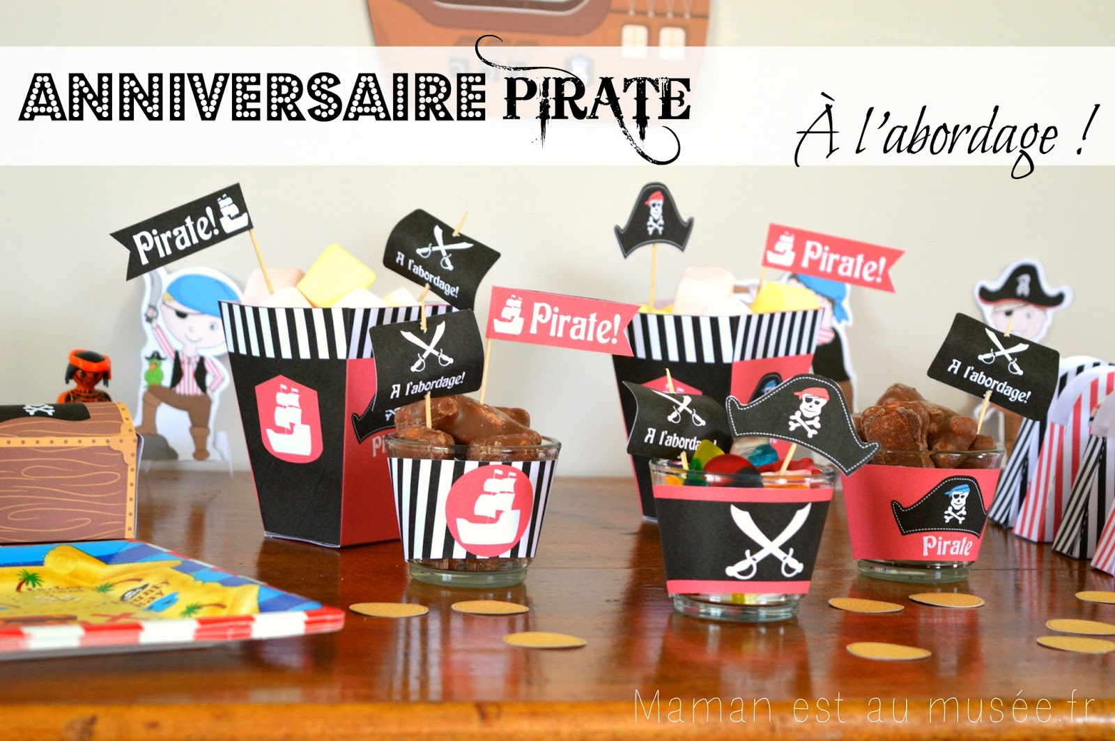 maman est au mus e blog famille lifestyle un anniversaire pirate pour ses 8 ans. Black Bedroom Furniture Sets. Home Design Ideas