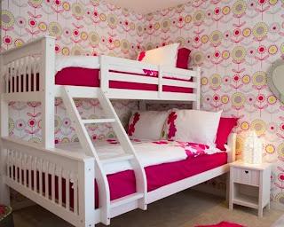 cuarto rosa para niñas