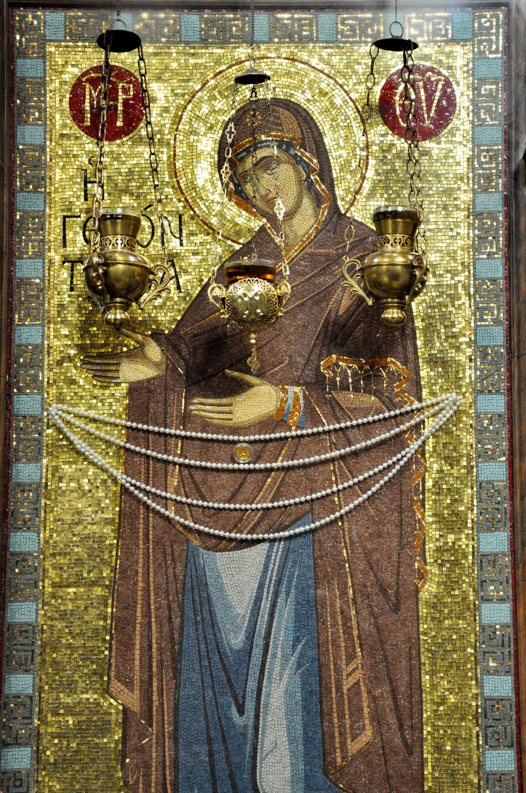 Icon of the Virgin Mary, Dormition of the Mother of God Cathedral, Varna