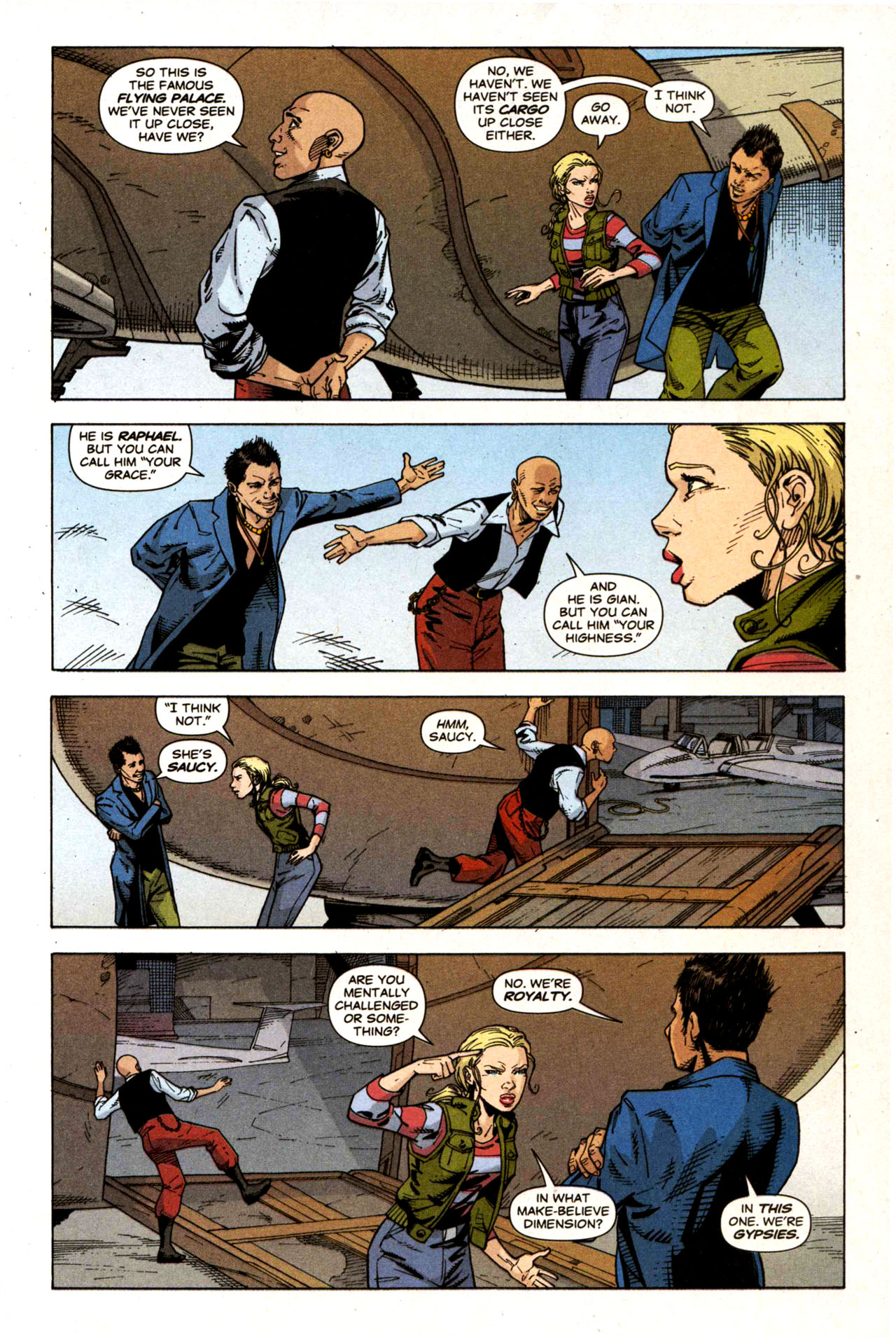 Read online Air comic -  Issue #5 - 15