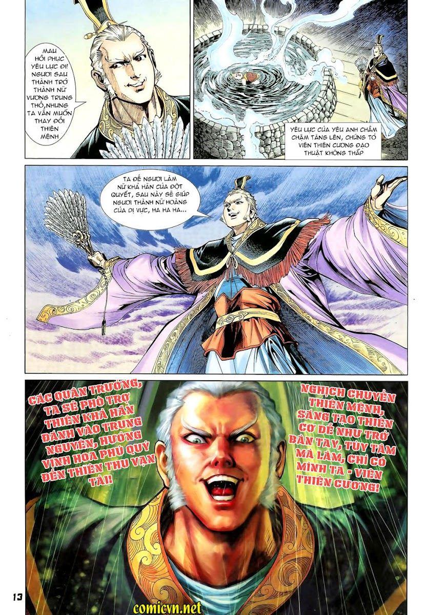 Đại Đường Uy Long chapter 90 trang 13