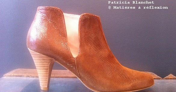 boots en cuir patricia blanchet cognac mati res r flexion paris. Black Bedroom Furniture Sets. Home Design Ideas