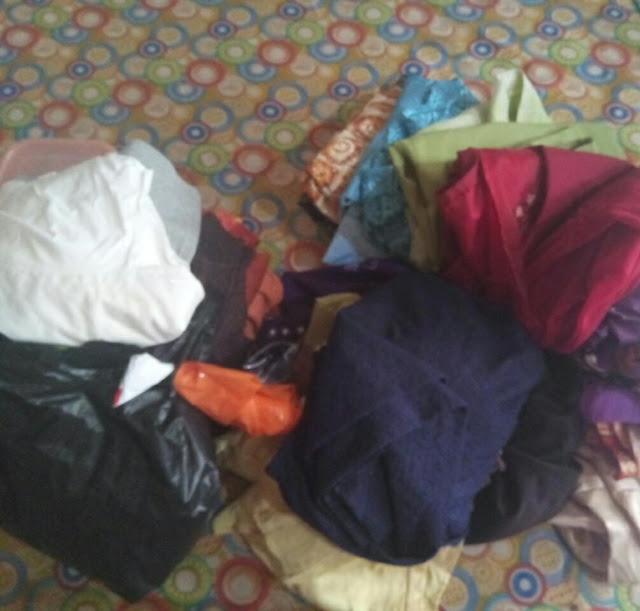 Sumbangan baju bukan lagi sekedar barang rongsokan