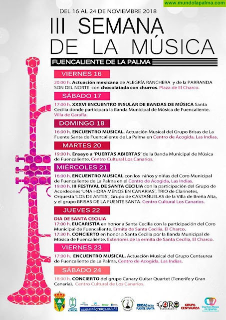 III Semana de La Música en Fuencaliente
