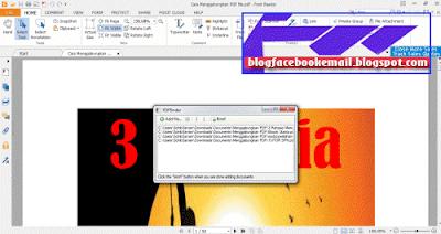 program PDF binder untuk menyatukan pdf dengan cepat