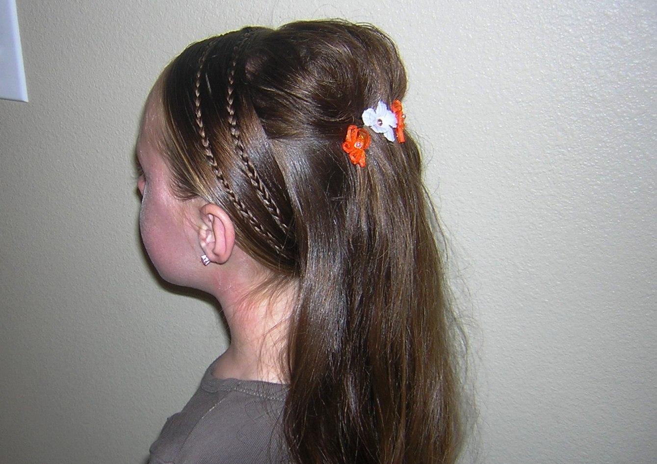 Wondrous Princess Hairstyles Little Girls Princess Hairstyles For Little Short Hairstyles Gunalazisus