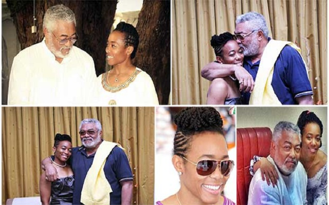 I'm proud to be your daughter; I wish I could keep you all for myself – Zanetor Rawlings