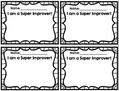 *The Teaching Oasis*: Super Improver Wall {Whole Brain