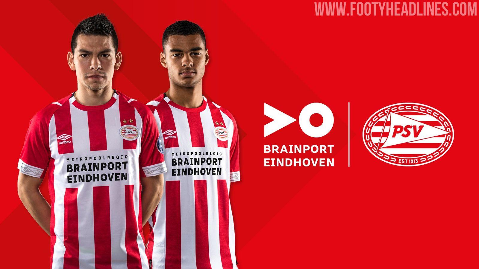 """PSV Announce New Main Sponsor """"Brainport"""" - Footy Headlines"""
