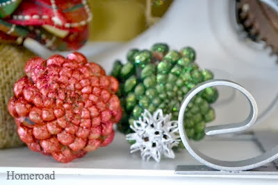 Modern Masters Paint and a Shimmering Holiday Mantel