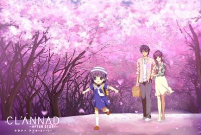 Clannad Adalah Serial Anime Yang Diproduksi Oleh Kyoto Animation Didasarkan Dari Visual Novel Buatan KEY Untuk Animenya