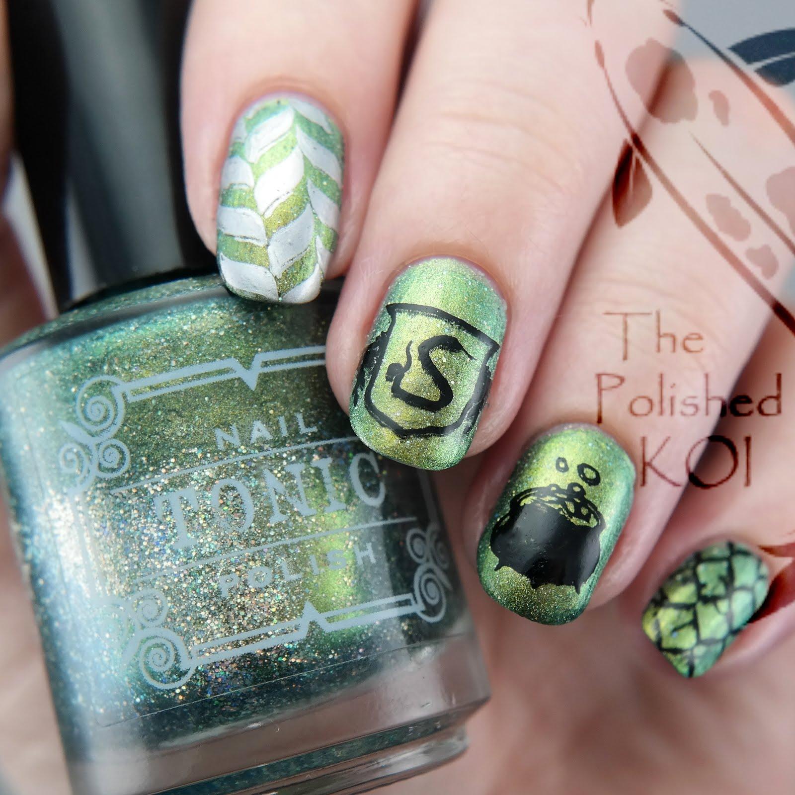 The Polished KOI: Miscellaneous Nail Art - January 2017