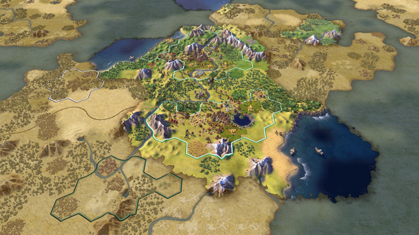 Sid Meiers Civilization VI PC Full Version Screenshot 2