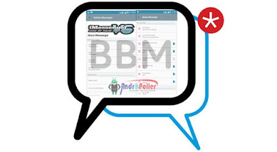 BBM MOD iMessenger V6 Base 3.0.0.18 Apk Update Terbaru Gratis