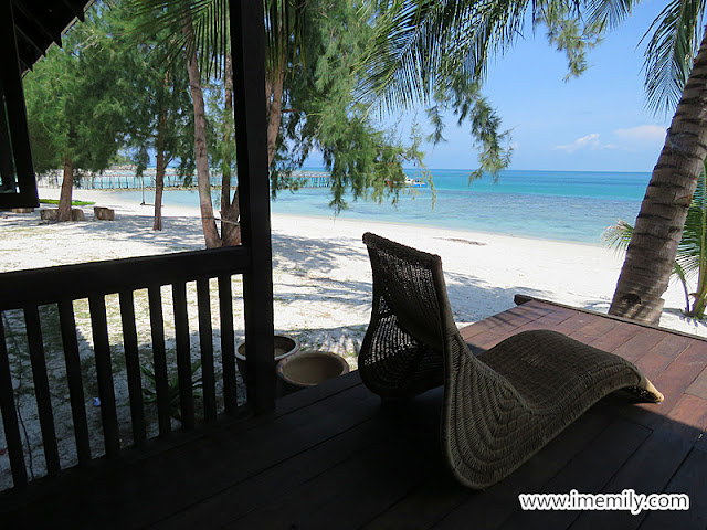 villa at Bayu Lestari Island Resort Pulau Besar Johor
