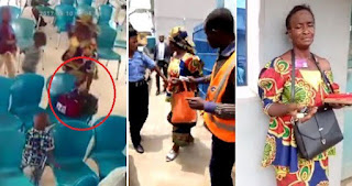 Elderly woman caught on CCTV stealing bags, phones, car keys at RCCG church