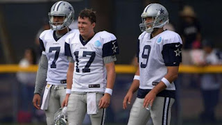 Dallas Cowboy, backup quarterback Kellen Moore