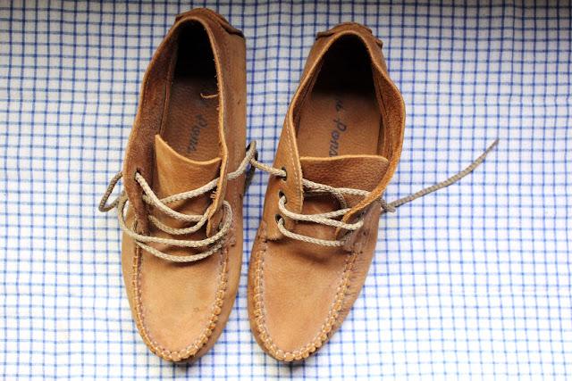 Vacances en camion, vintage, objets vintage, shoes