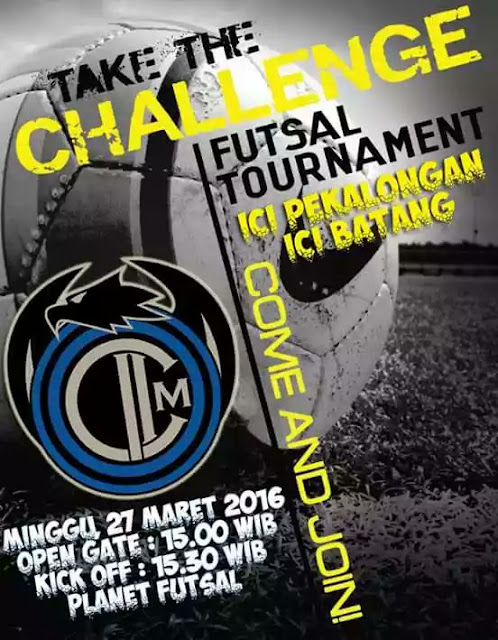 EVENT: Batang – Pekalongan | 27 Maret 2016 | Inter Club Indonesia | Futsal Turnament