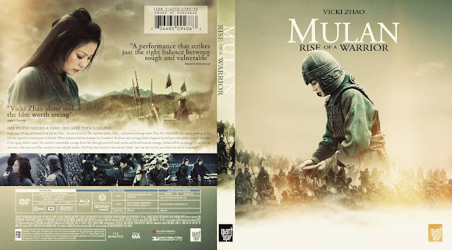 Mulan Rise Of A Warrior (Hua Mulan) Bluray Cover