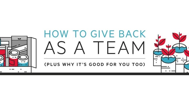 How to Give Back as a Team (Plus Why It's Good for You Too)