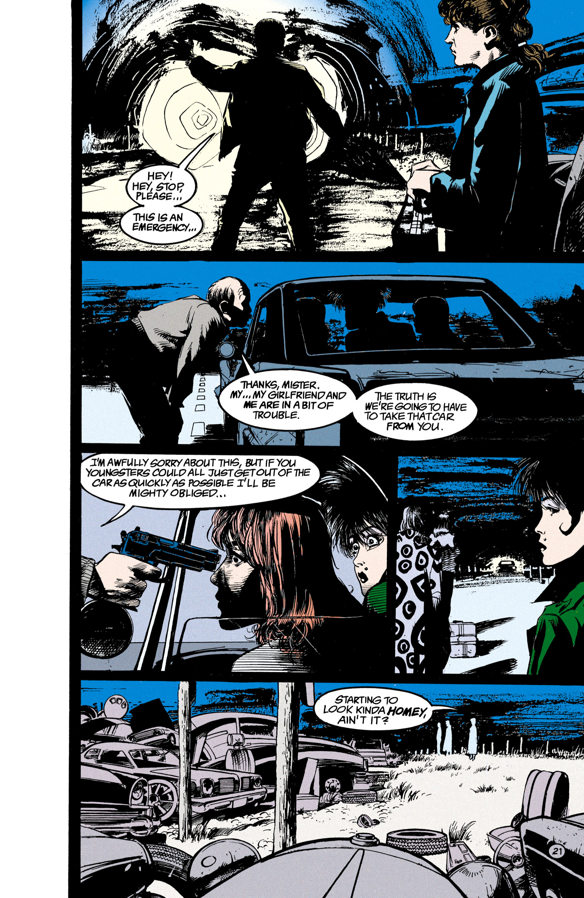Read online Shade, the Changing Man comic -  Issue #23 - 22