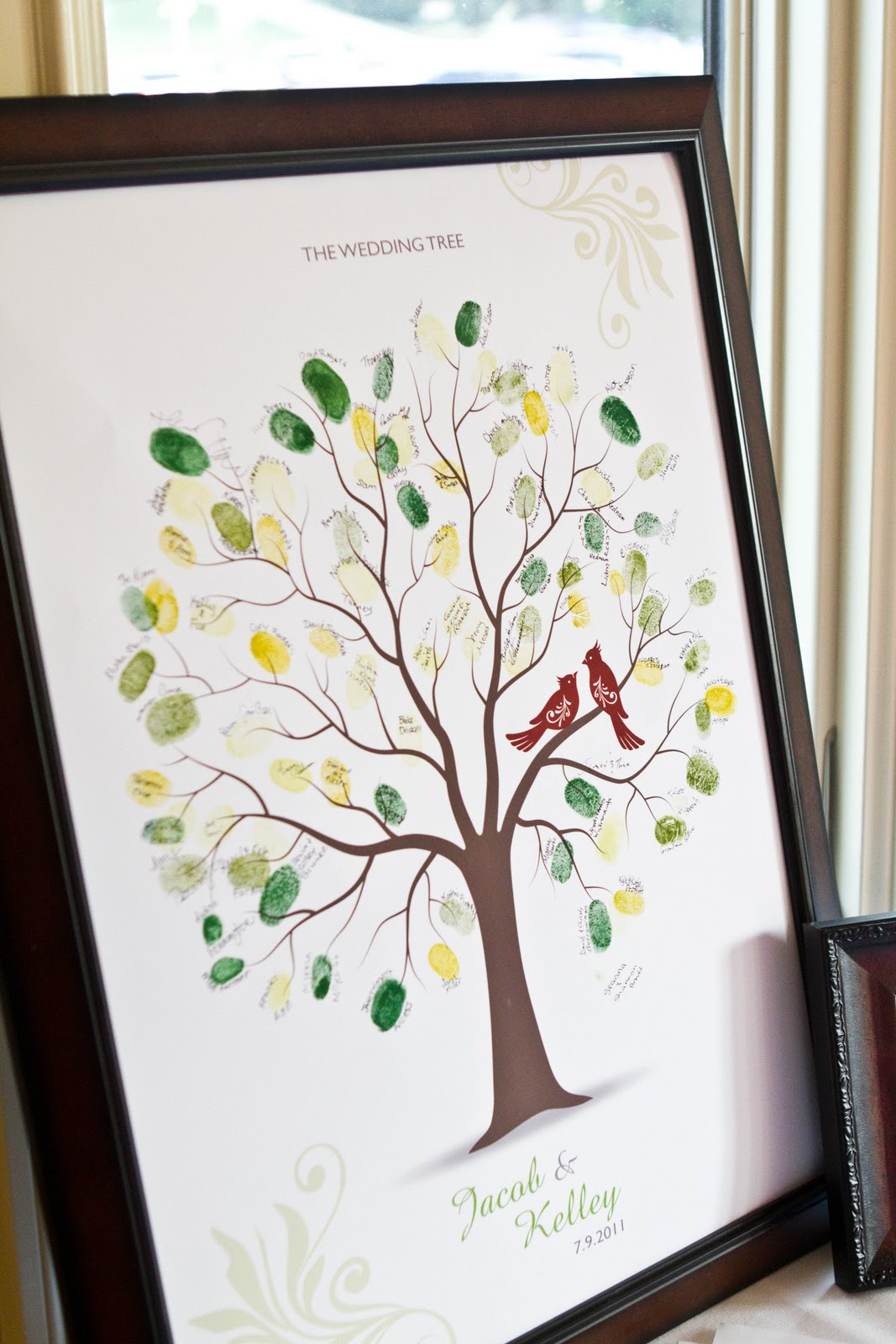 jacob and kelley july wedding at the winery wedding tree I instantly found her to be adorable inside and out She aslo introduced me to http www etsy com She ordered this wedding tree from etsy