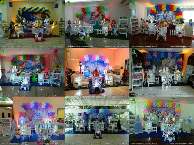 Decoração provençal para festa de aniversário feminino
