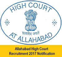1955 Allahabad HC Job Notification 2017 Class III, Group D, ICT, PA