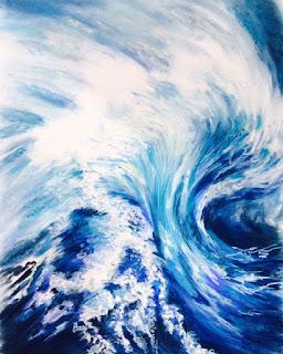 Blue Wave © vanessa montenegro