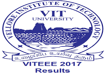 VITEEE 2017 Results Score Card/Rank Card