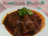 Resep Rendang Daging Sapi Sederhana dan Praktis