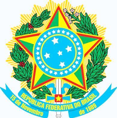 Dibujo del escudo de Brasil para niños