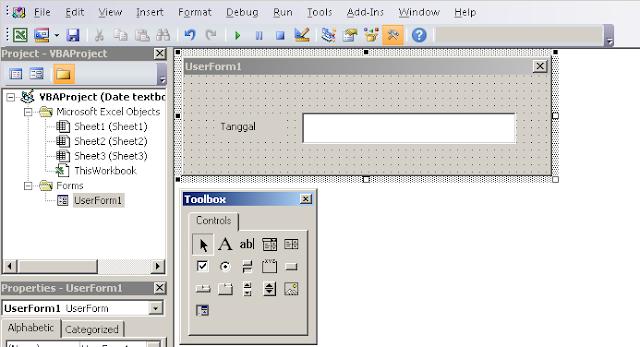 Membuat Format Tanggal Otomatis di Textbox Userform dengan VBA