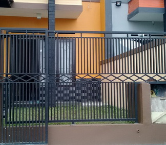 Harga Pagar Galvanis Per Meter Alam Jaya Canopy