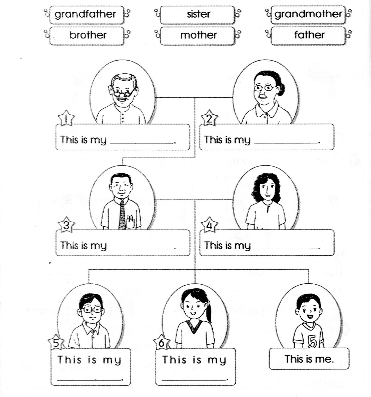 Blog Foonglengwong Worksheet Topic 4 Family Liza S