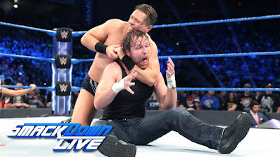 WWE Smackdown Dean Ambrose Intercontinental Talking Smack The Miz