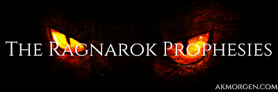 Now Available! Flame (The Ragnarök Prophesies, #3) by A.K. Morgen