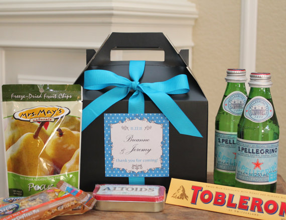 Gift Bags For Weddings For Hotel Guests: Miriam Ackerman Events: Welcome Bags For Your Out Of Town